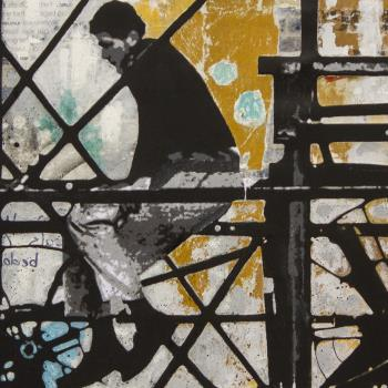 FOUR CORNERS artwork by db Waterman - art listed for sale on Artplode