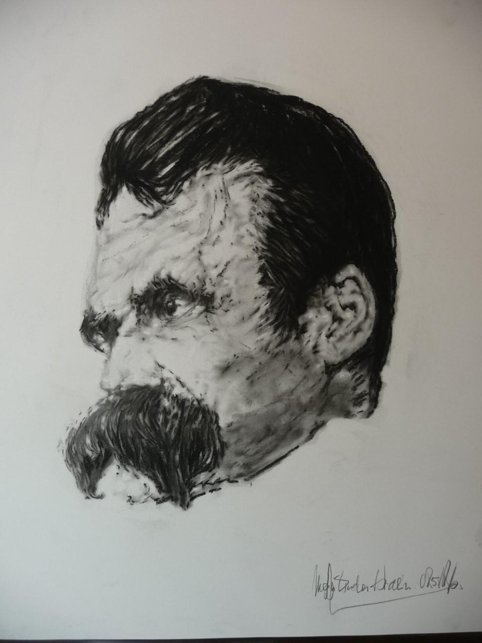 Somber artwork by Bartholomaus Durynek - art listed for sale on Artplode