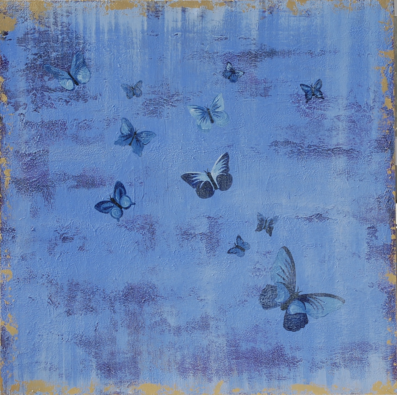 Voyage dans in Reve Journey into a Dream artwork by Renee Guercia - art listed for sale on Artplode