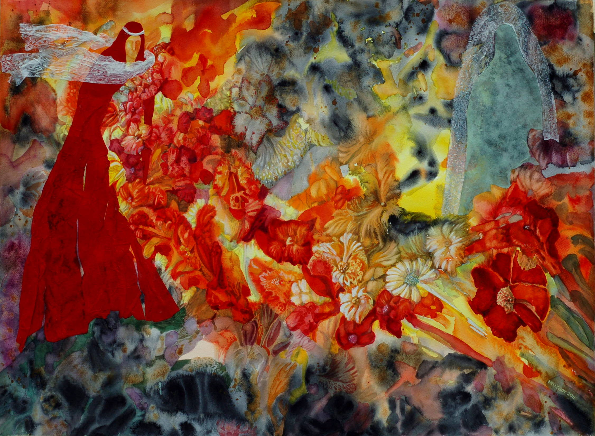 Palm Sunday artwork by Nelly Gocheva - art listed for sale on Artplode