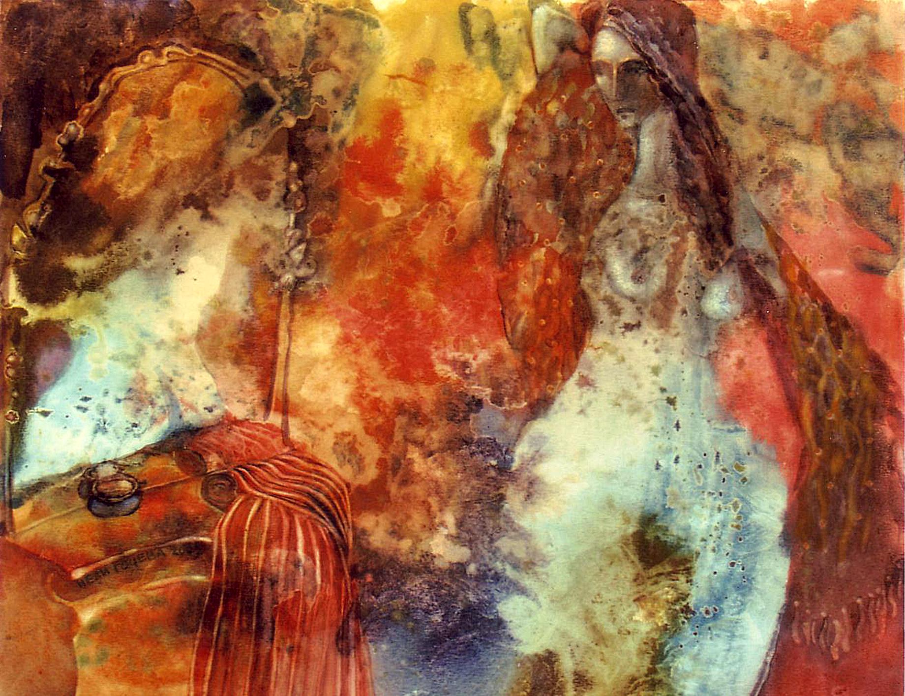 Naked Body artwork by Nelly Gocheva - art listed for sale on Artplode