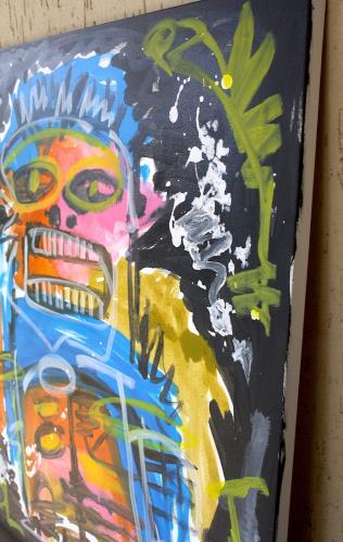 Like a Devil artwork by Noah Borger - art listed for sale on Artplode