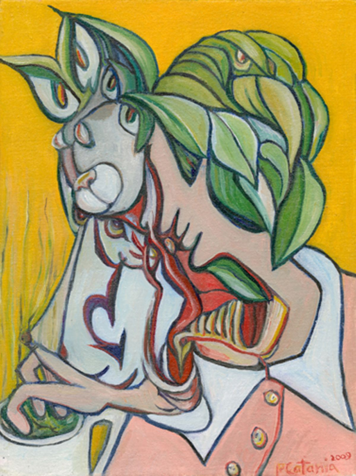 Alice artwork by Philip Catania - art listed for sale on Artplode