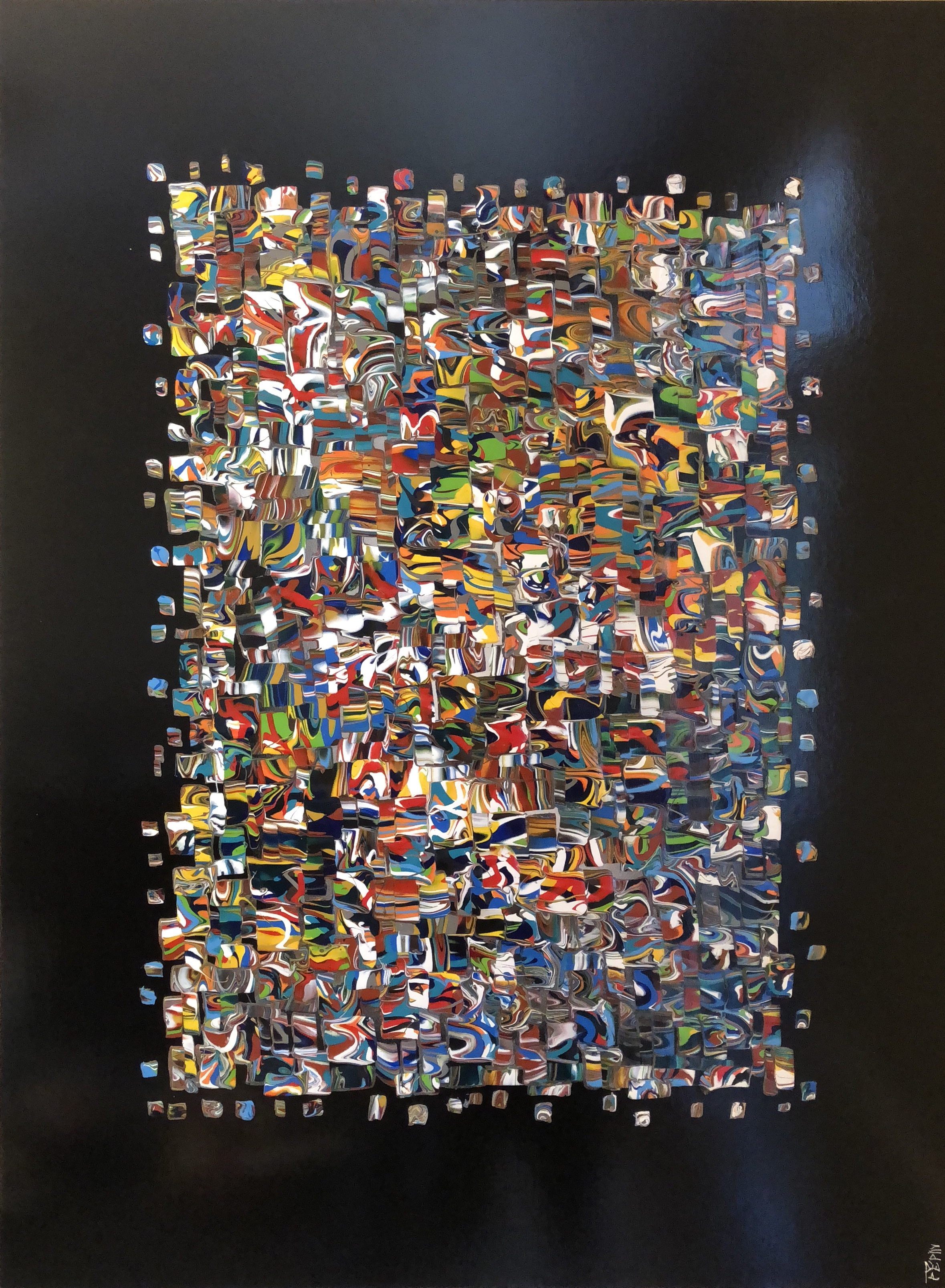 Code 9 artwork by Patrick Pepin - art listed for sale on Artplode