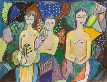 Indigènes 2, art for sale online by Rita David
