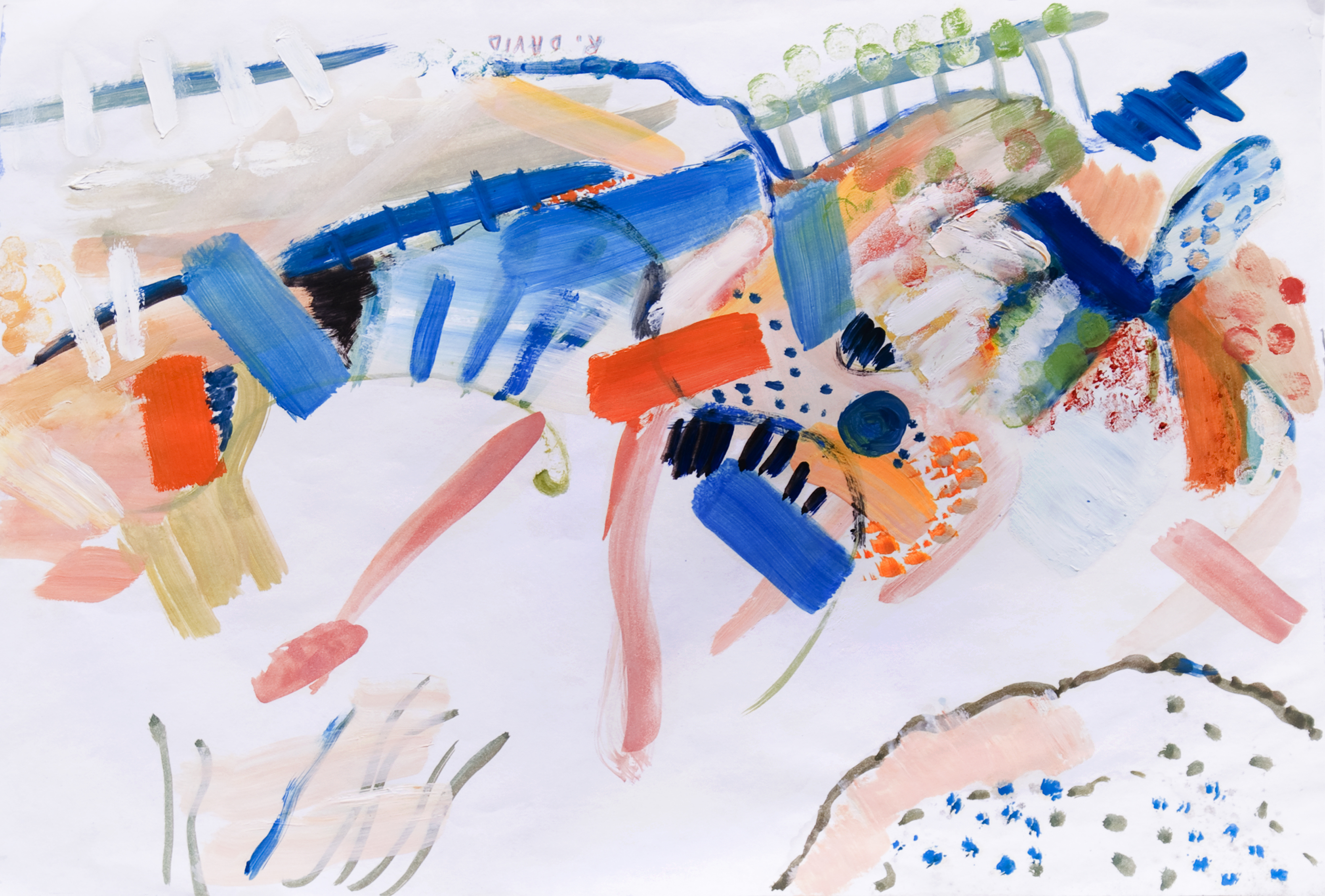 Musicale artwork by Rita David - art listed for sale on Artplode