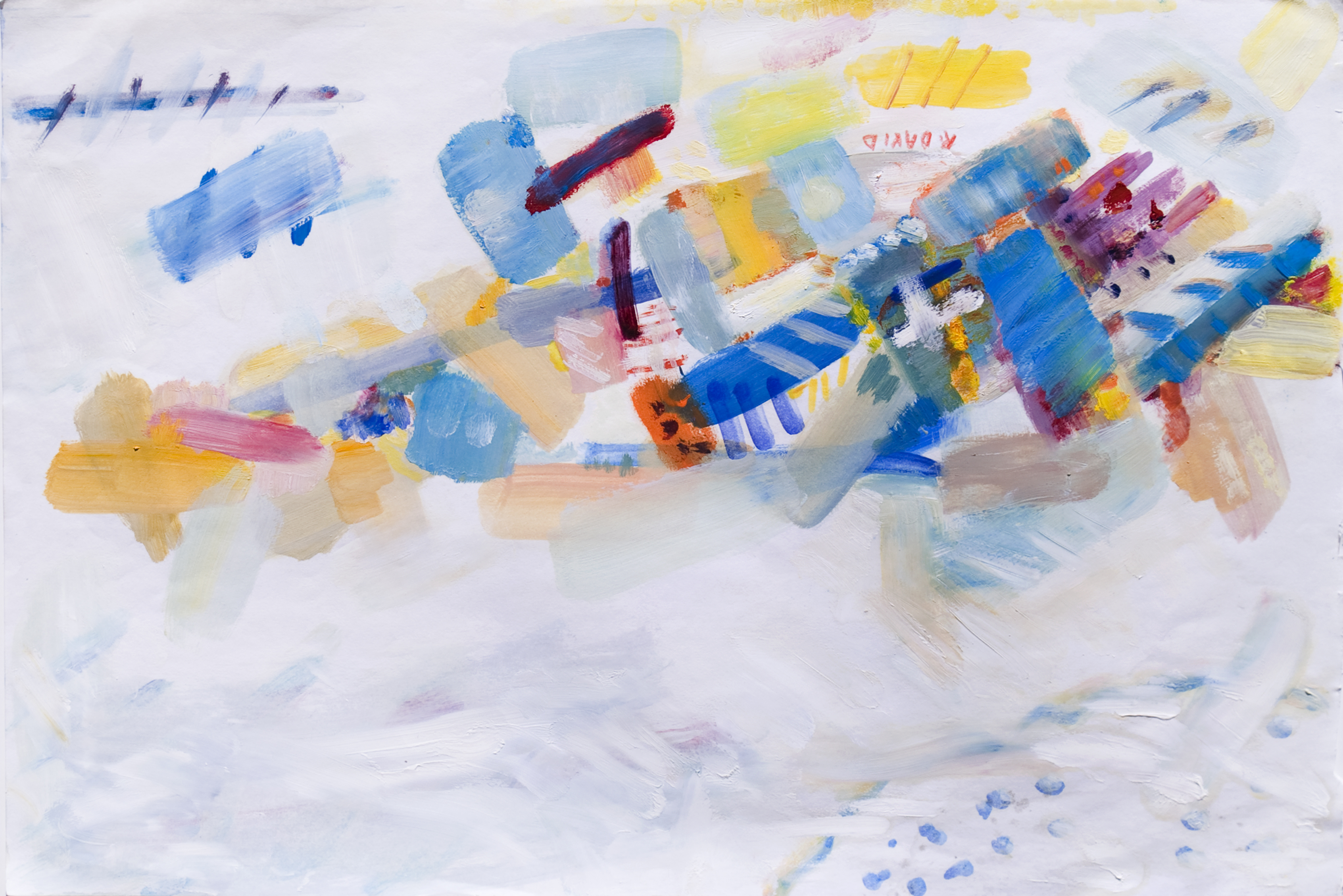 Abstrait artwork by Rita David - art listed for sale on Artplode