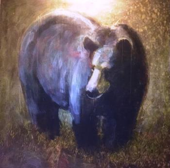 Black Bear, art for sale online by Les Thomas