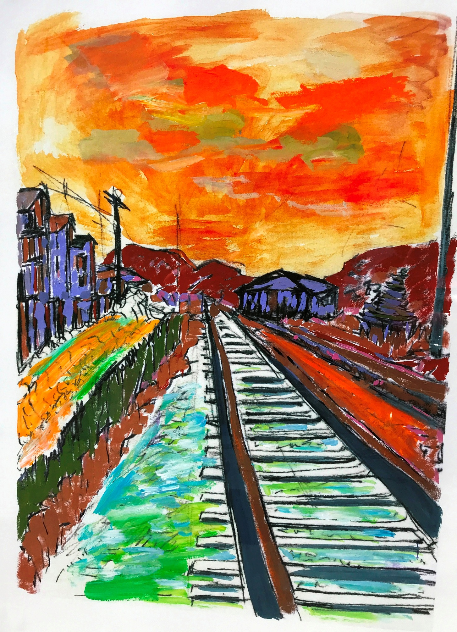 Side Tracks artwork by Bob Dylan - art listed for sale on Artplode