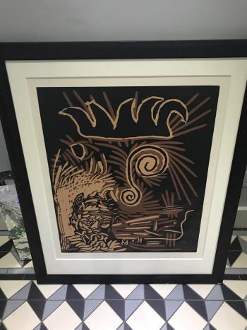 Tetes Le Vieux Bouffon artwork by Pablo Picasso