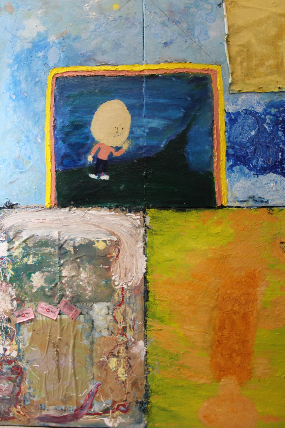 The happy canvas artwork by Codi - art listed for sale on Artplode