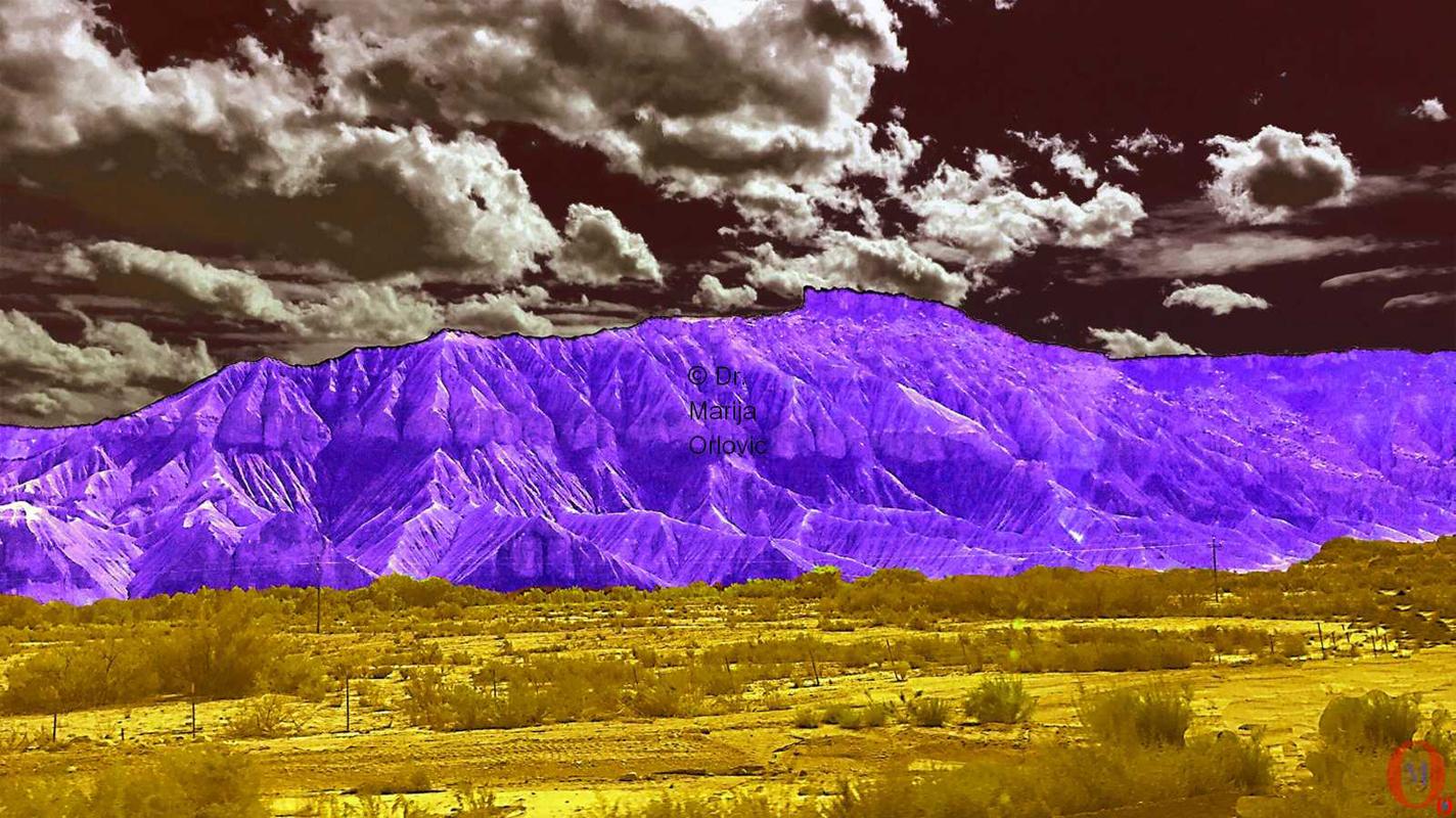 landscape USA 03 artwork by Marija Orlovic - art listed for sale on Artplode