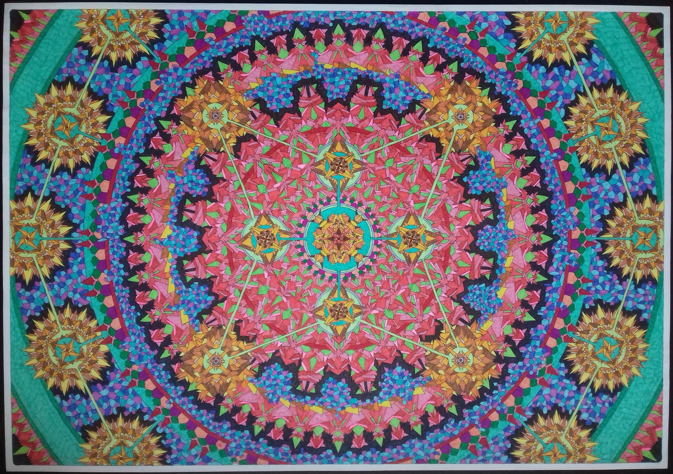 Solar artwork by Dafnis Rey - art listed for sale on Artplode