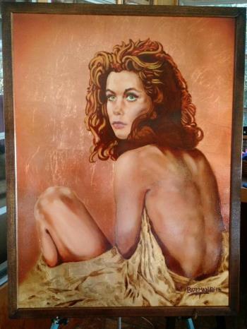 Elizabeth artwork by James Bateman