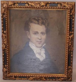 Portrait of George Washington Warner, art for sale online by Bessie Gibson