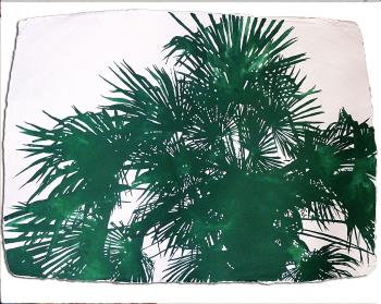 Palms, art for sale online by Sara Jane Maltby