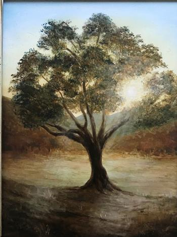 Autumn tree , art for sale online by Nicki Minnai