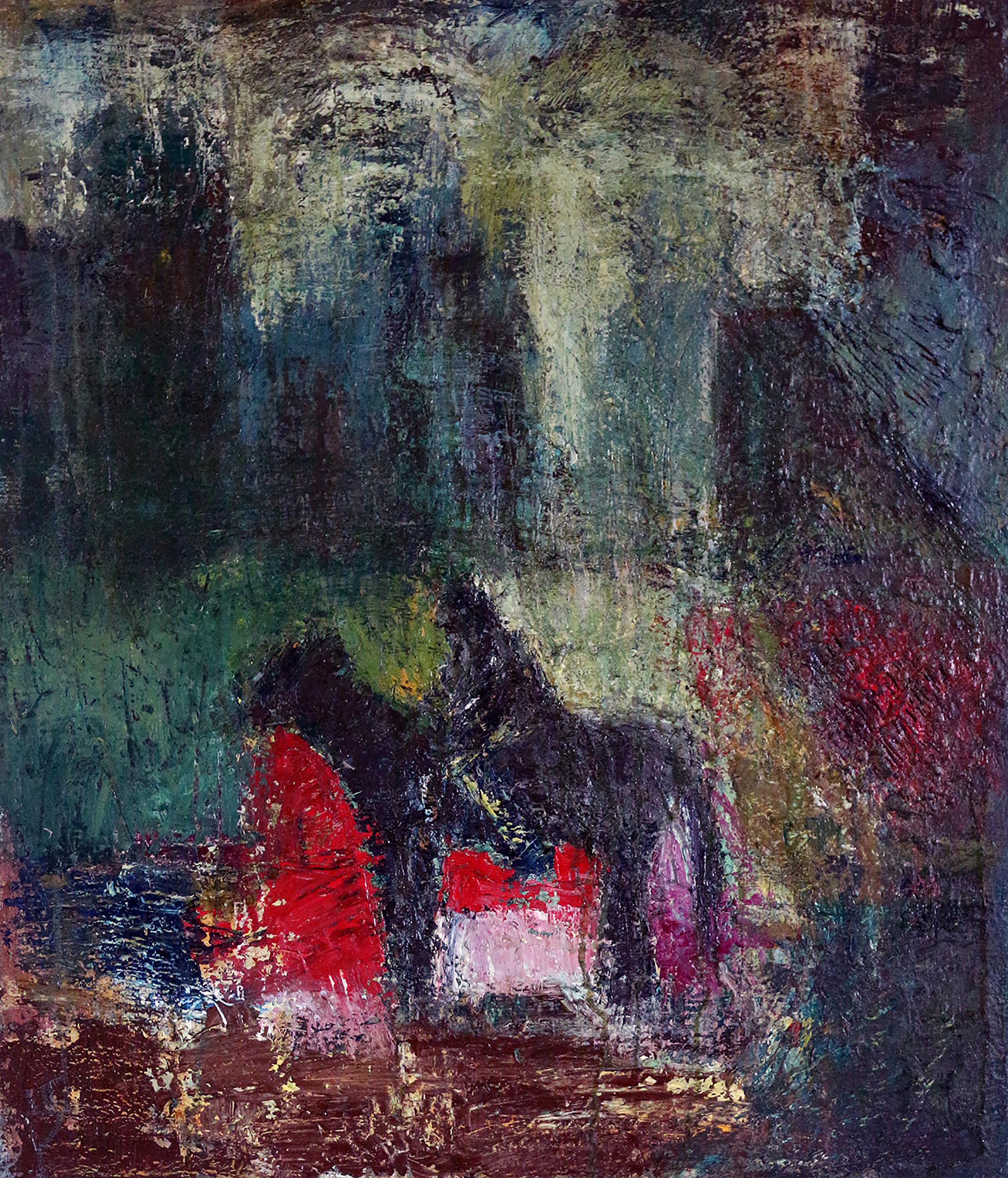 Horseman artwork by Tehmina Harutyunyan - art listed for sale on Artplode