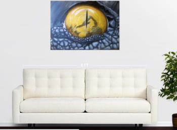 See through my eyes 1 artwork by Judit Szalanczi