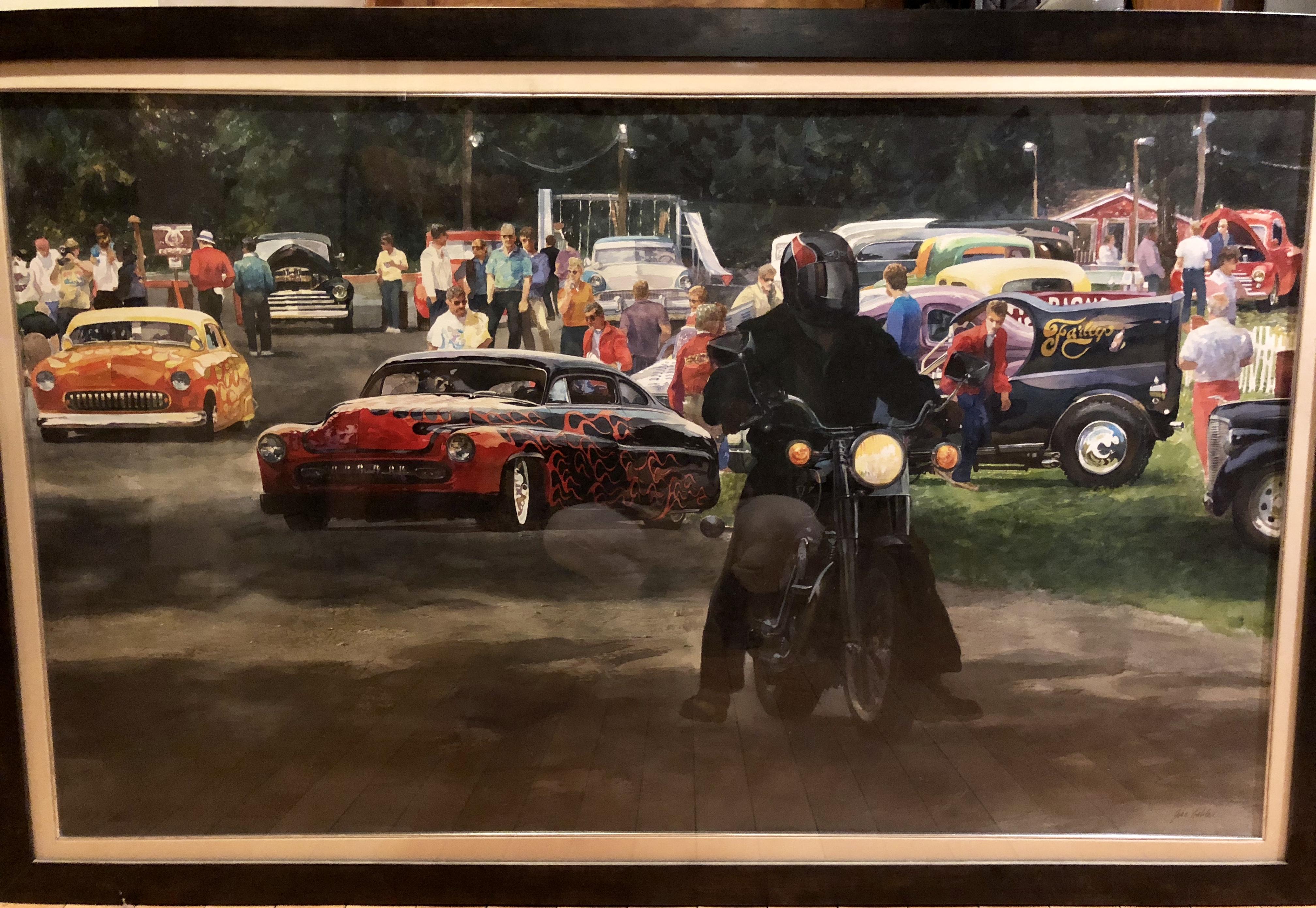 Hot Rods artwork by John Gable - art listed for sale on Artplode
