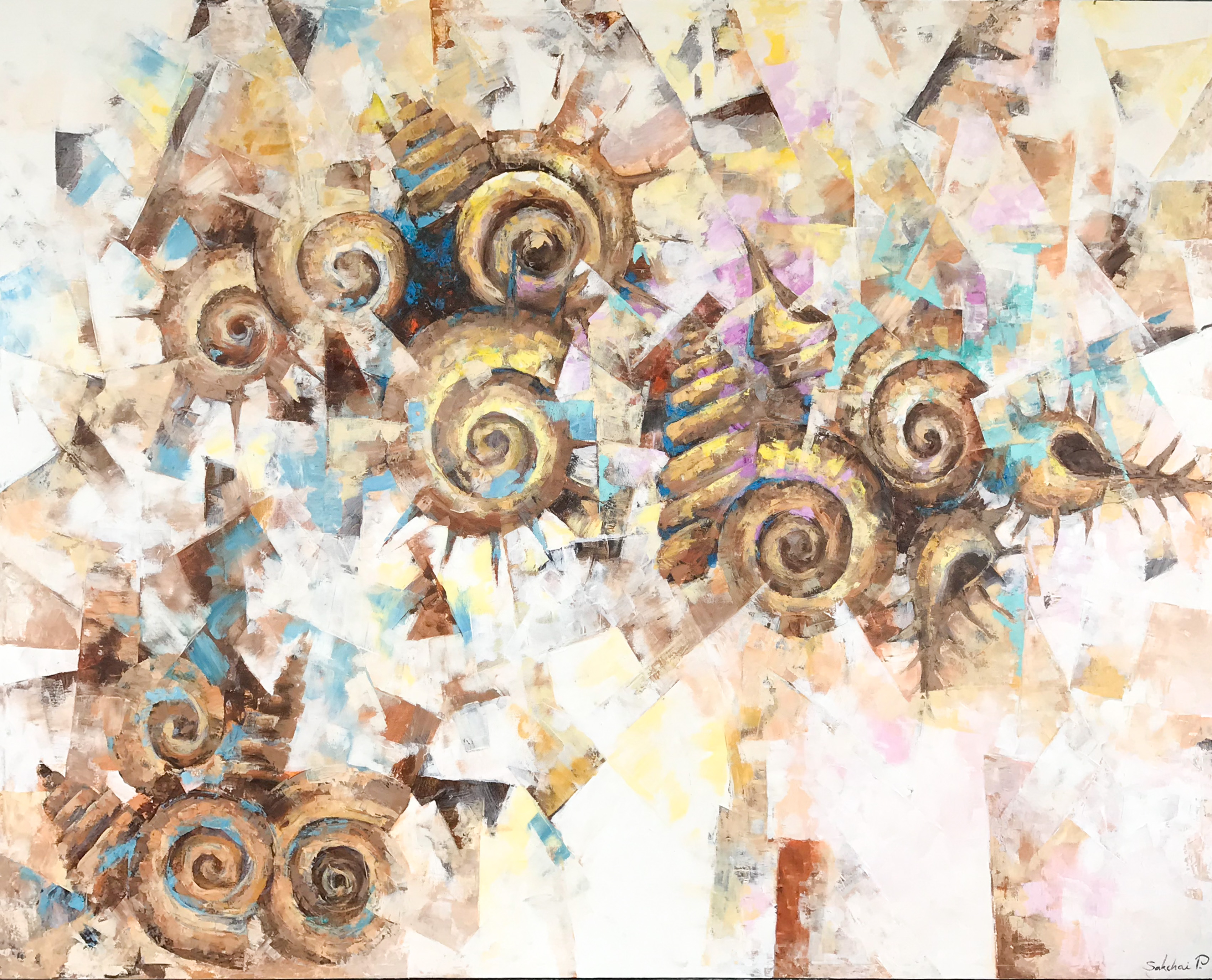 Verity BL 02 artwork by Sakchai Pongsawat - art listed for sale on Artplode