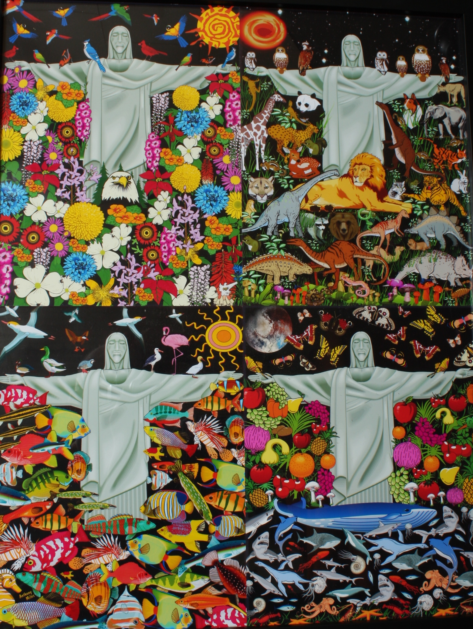 Creative Creator artwork by Anthony Miles - art listed for sale on Artplode