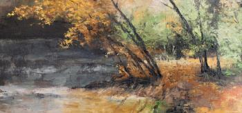 Copper Autumn artwork by Ben Jurevicius - art listed for sale on Artplode