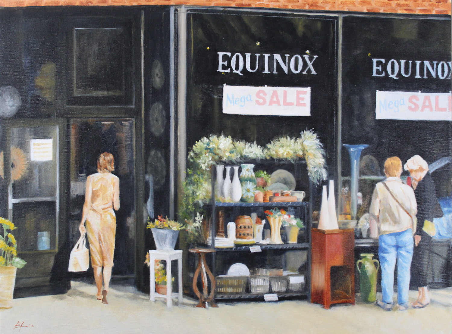 Equinox Mega Sale artwork by Ben Jurevicius - art listed for sale on Artplode