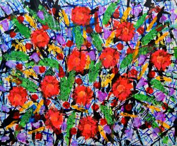 Found Florale, art for sale online by Franck de las Mercedes