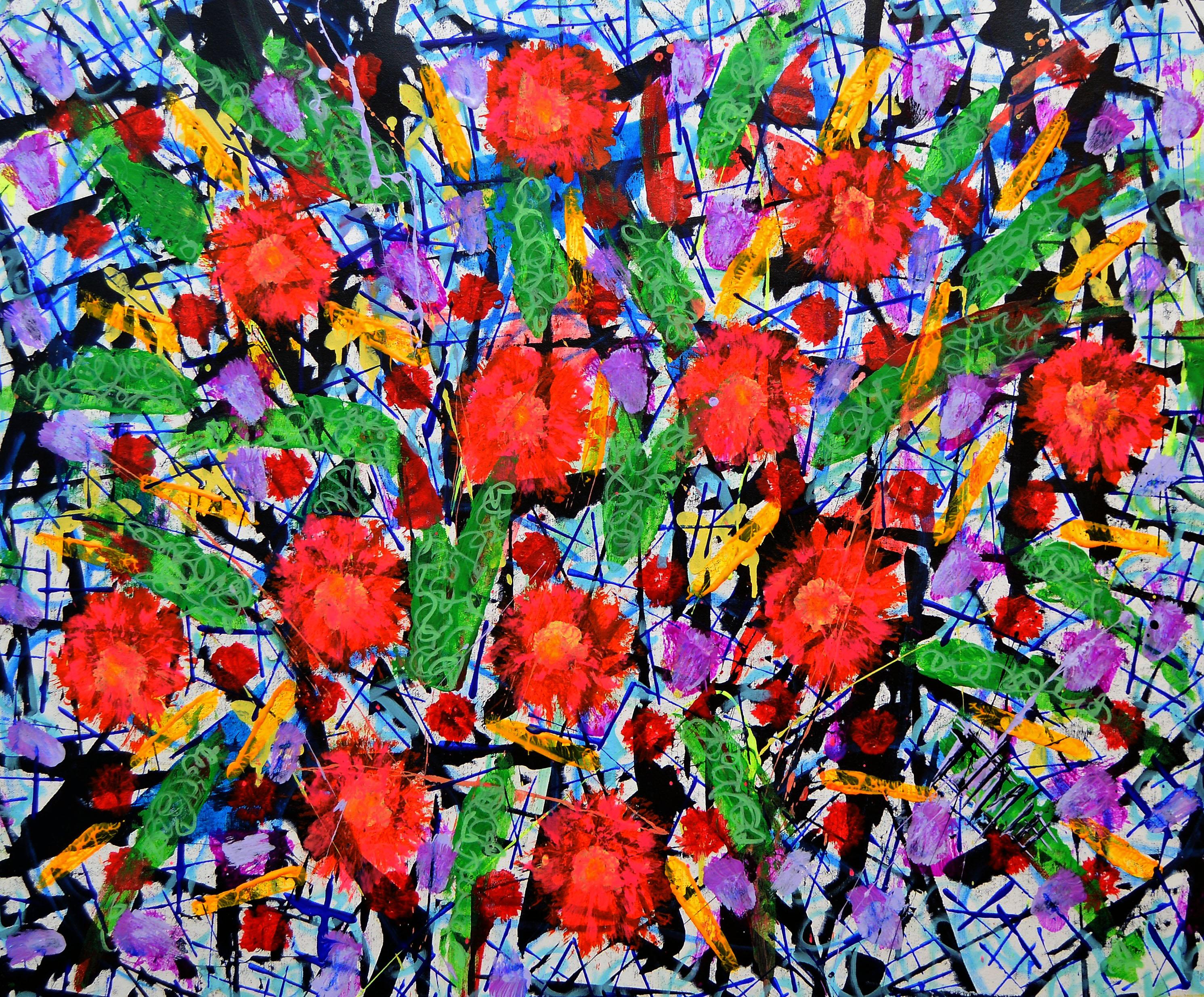 Found Florale artwork by Franck de las Mercedes - art listed for sale on Artplode