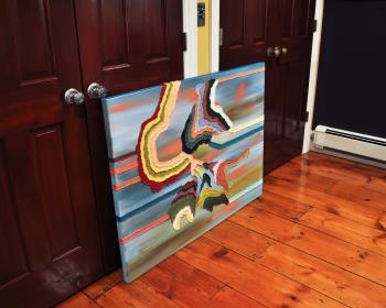 Billow artwork by Logan Hughes - art listed for sale on Artplode