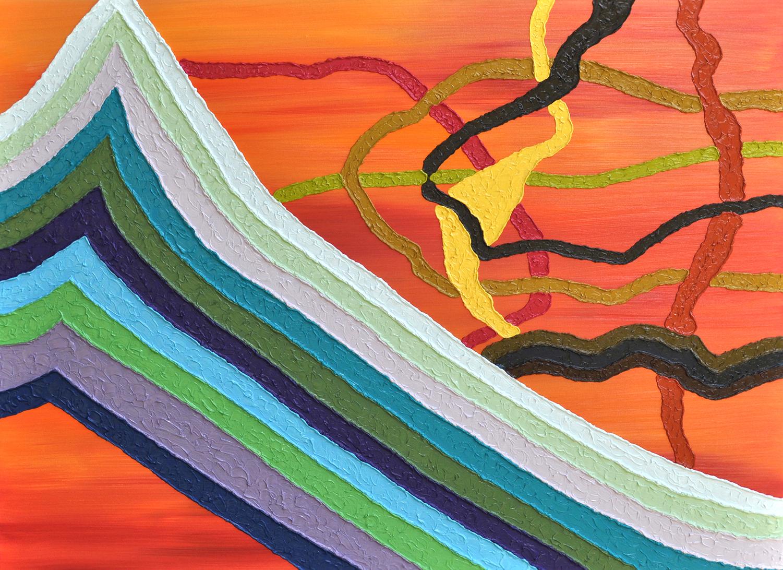 Horizons artwork by Logan Hughes - art listed for sale on Artplode