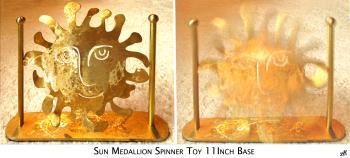 SUN MEDALLION artwork by Dana Mason - art listed for sale on Artplode