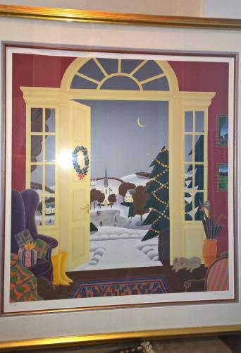 Christmas Eve artwork by Thomas McKnight