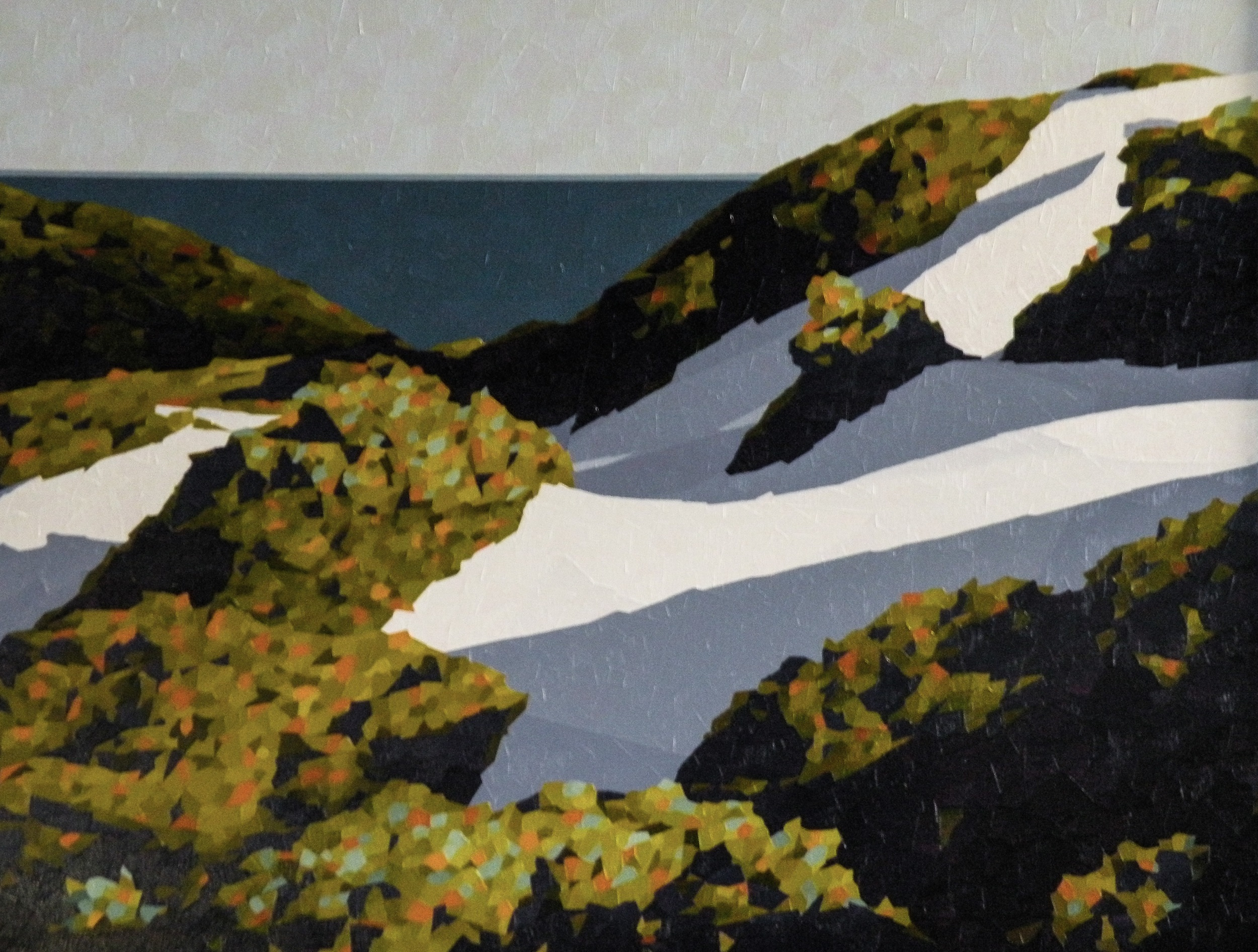 Dunes 1 artwork by Colin Madgwick - art listed for sale on Artplode