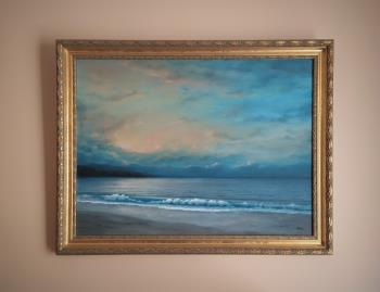 Calm Coast artwork by Zigmars Grundmanis - art listed for sale on Artplode