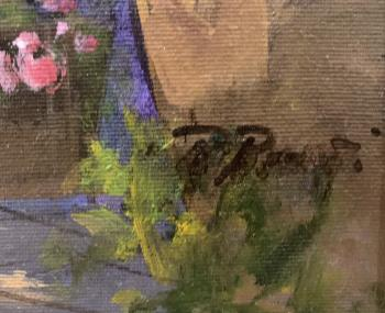 Giardino a Capri  artwork by Raimondo Roberti - art listed for sale on Artplode