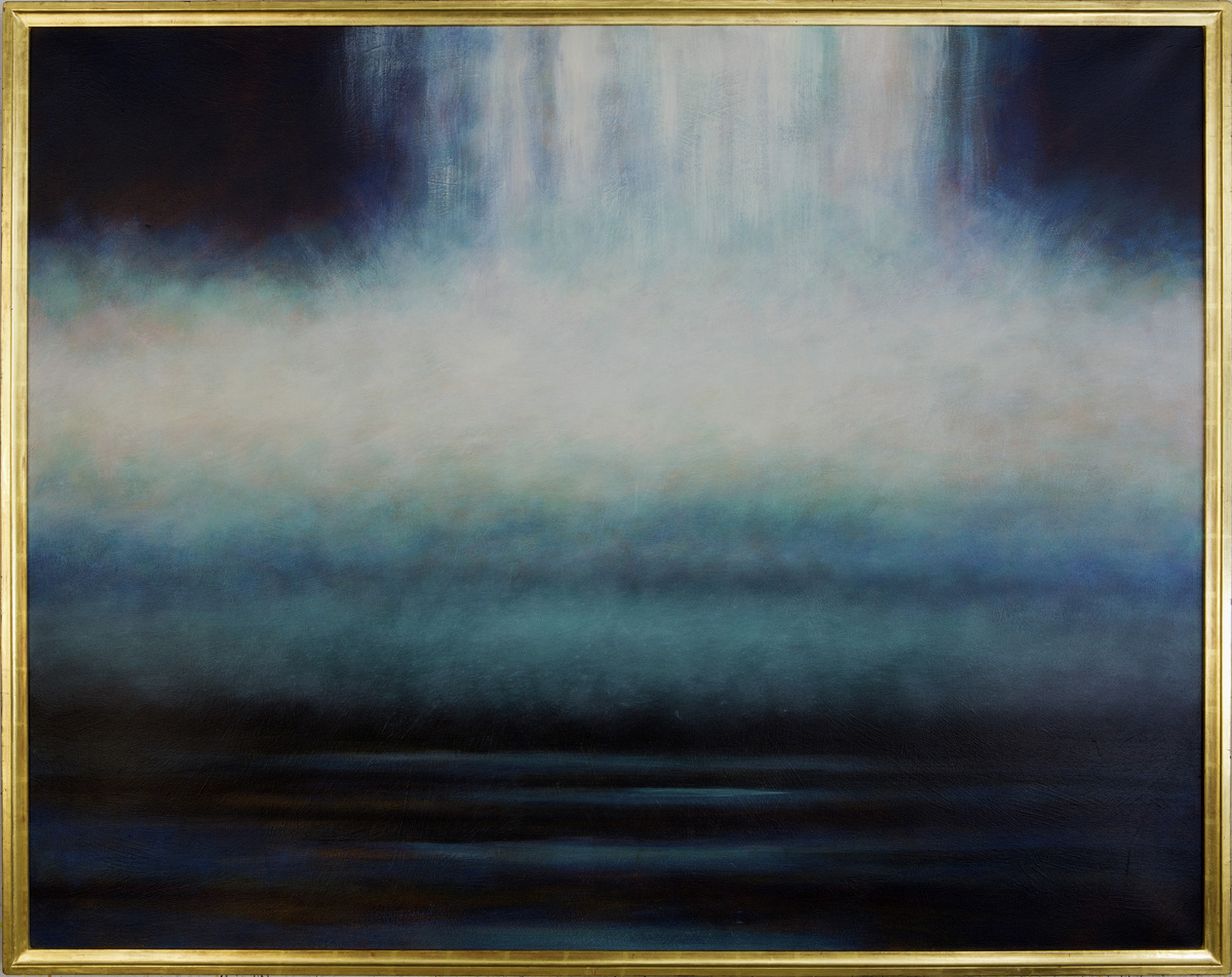 Waterfall 5 artwork by Barry Masteller - art listed for sale on Artplode