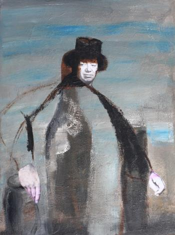 Portrait of Diego Rivera, art for sale online by Joe McGee
