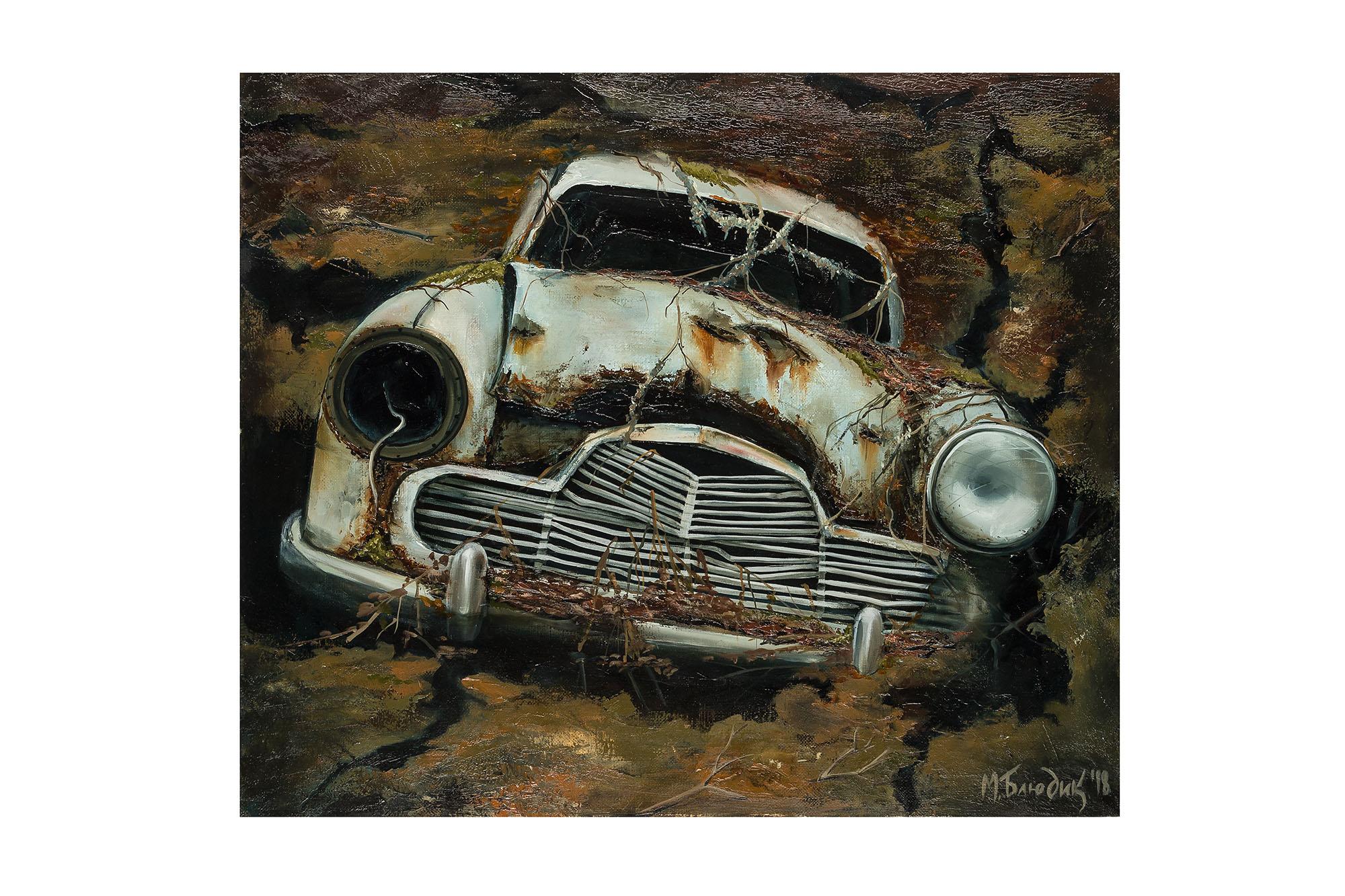 Undina artwork by Mariia Bliudik - art listed for sale on Artplode