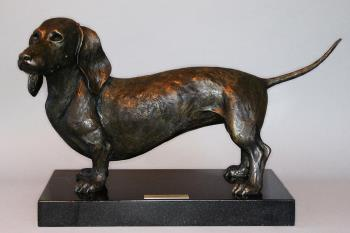 Life Size Dachshund, art for sale online by Todd Lane