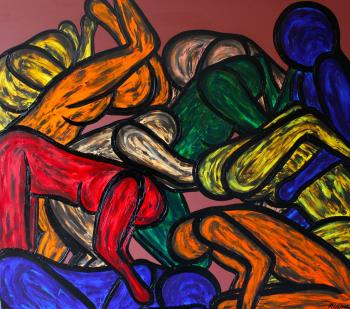 SLEEPING MOTHER, art for sale online by Francesco Ruspoli