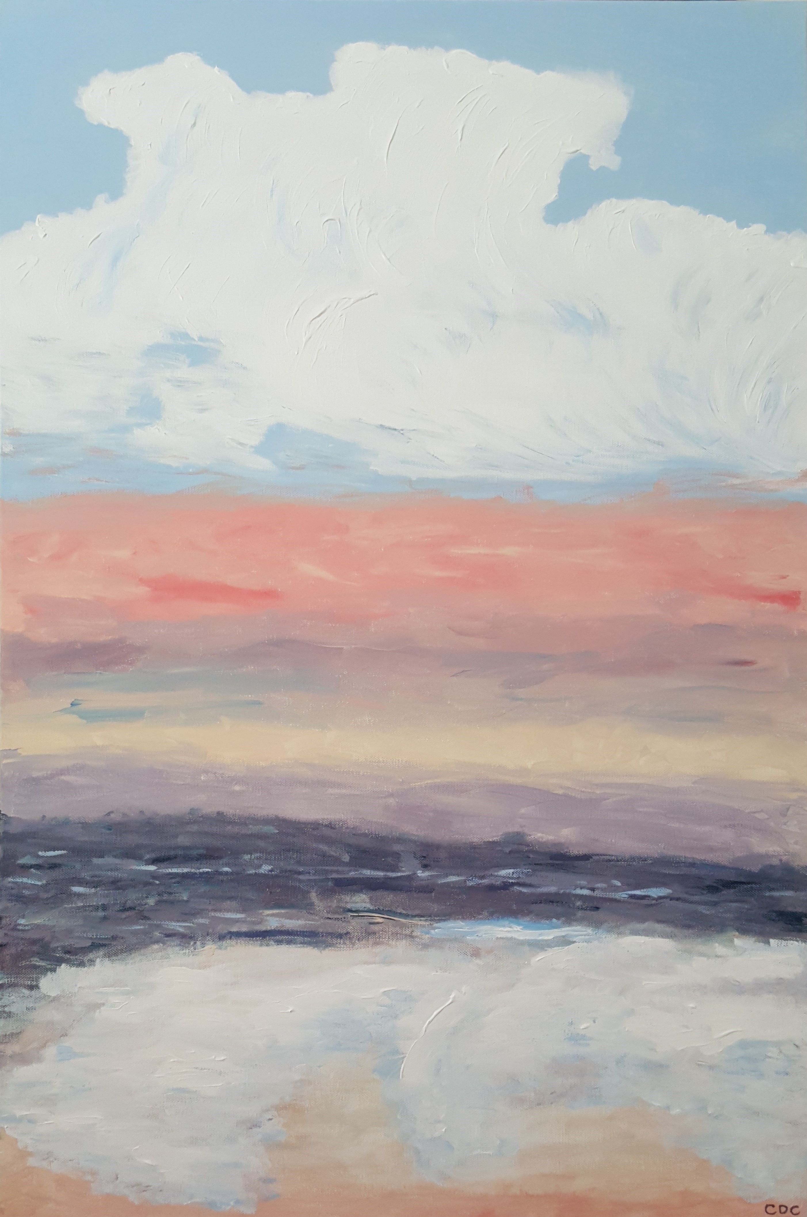 Cloudscape artwork by  CDC - art listed for sale on Artplode