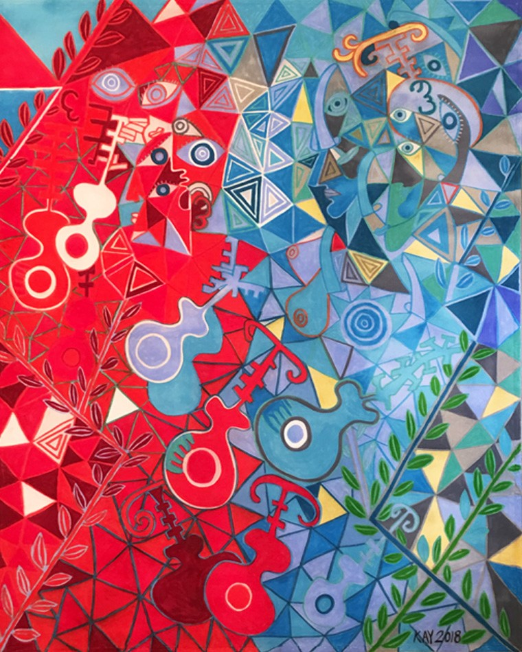 Pathways artwork by Will Kay - art listed for sale on Artplode