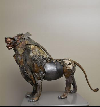 The Dream Keeper Lion artwork by Boris Sarikov
