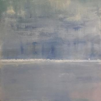 Solent Blue, art for sale online by Renee Guercia