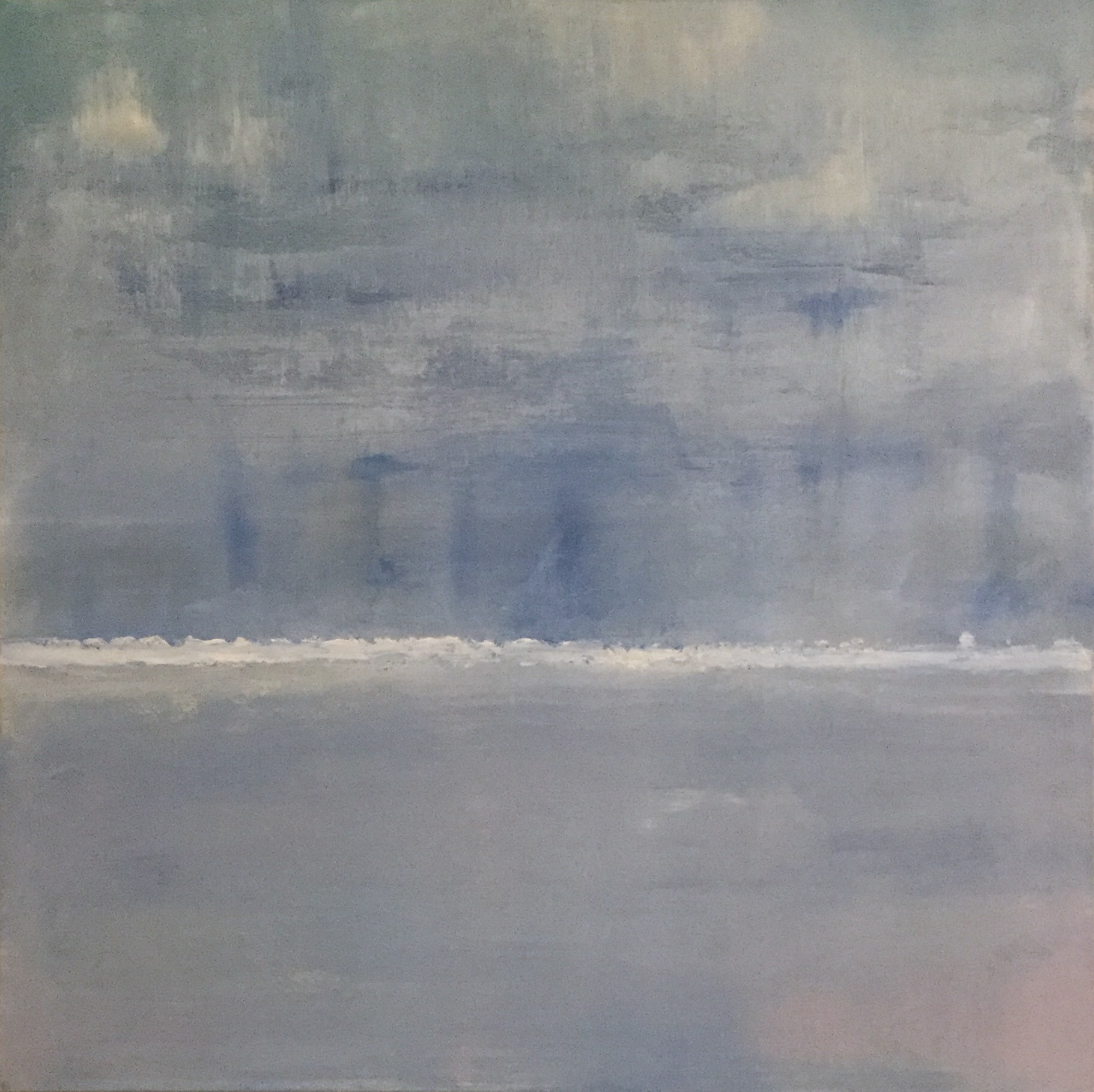 Solent Blue artwork by Renee Guercia - art listed for sale on Artplode