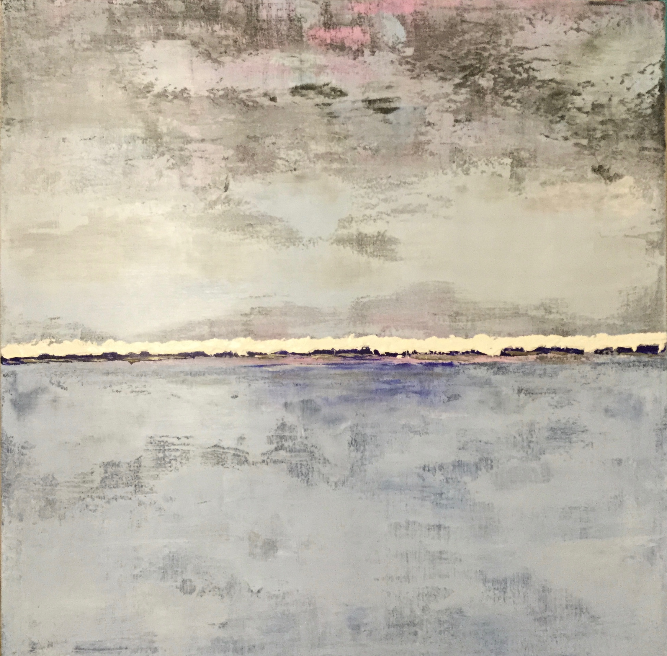 As the Storm Rolls In artwork by Renee Guercia - art listed for sale on Artplode