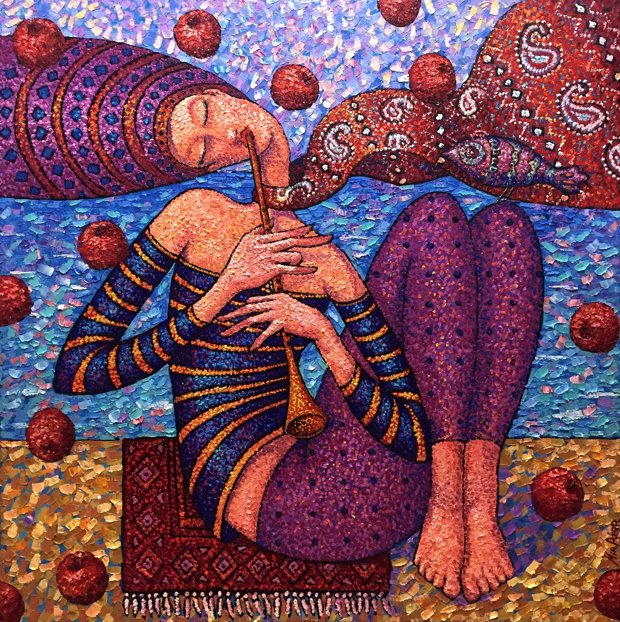 Duet artwork by Mir Azer - art listed for sale on Artplode
