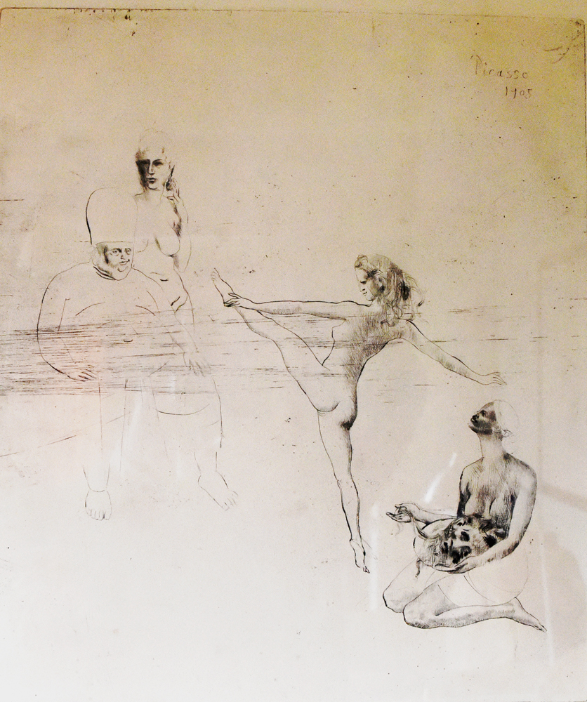 Salome artwork by Pablo Picasso - art listed for sale on Artplode